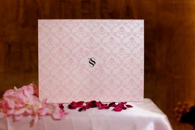 elegant boxed invites
