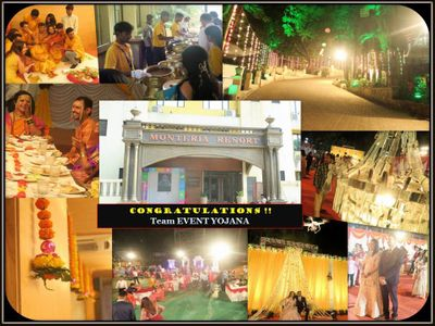 Destination Wedding @ Monteria Resort-Khopoli