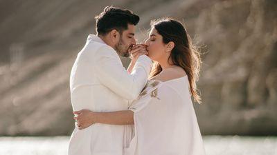 Tanya and Sahil - Safarsaga Films - Leh Ladakh - Destination Pre Wedding Shoot Photographer in Chandigarh