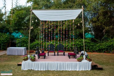 Eco-friendly weddings( Debjita and korey)