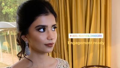 Priyambada engagement look