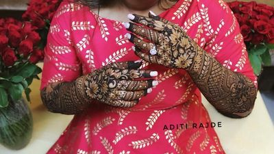 Aditi Patil's Mehendi