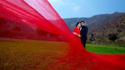 Ayush Jindal & Kritika Pre-Wedding Shoot