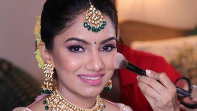 Shubha ( South Indian & North Indian Bridal Look)