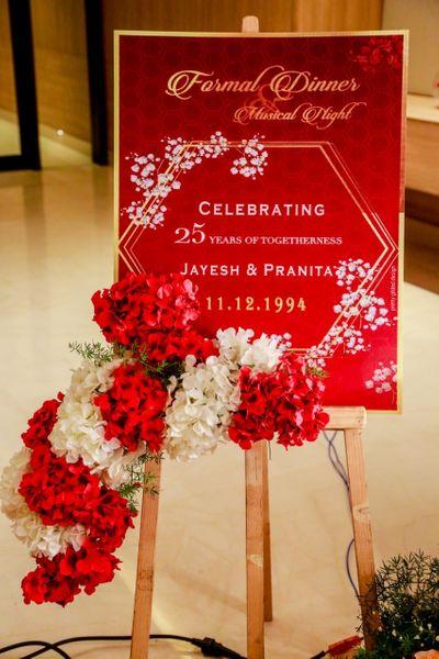 Jayesh and Pranita's 25th Anniversary!