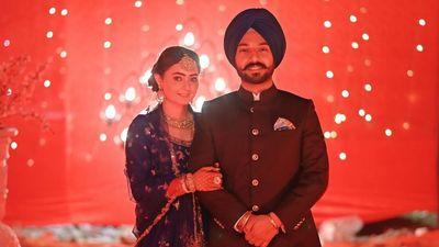 Vikram and Navneet - Reception Shoot - Safarsaga Films