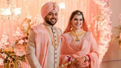 Gurpriya and Akash - Wedding Shoot - Safarsaga Films