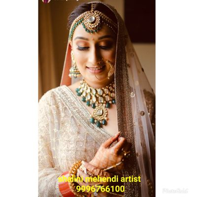 Suhani bridal mehendi at udman resorts at Nh8 delhi