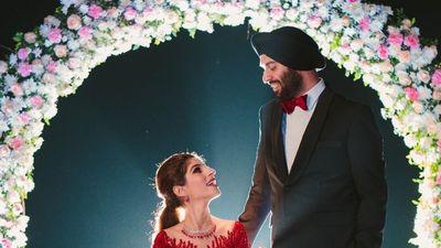 Beach Wedding vows ( Japji Weds Simar )