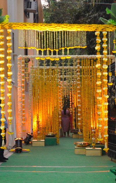 South Indian Theme Mehendi