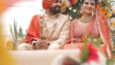 Simran and Ajay - Wedding, Sangeet Shoot - Safarsaga Films