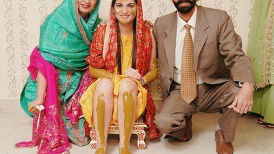 Simran and Ajay - Haldi, Mehendi Shoot - Safarsaga Films