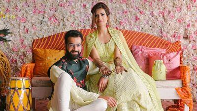 Anubha and Gunjan - Engagement, Mehendi Shoot - Safarsaga Films