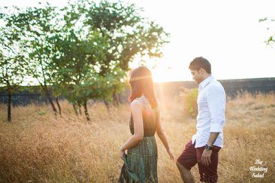 Naveli & Dinesh: Pre-Wedding Shoot in Goa