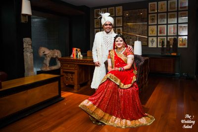 Anjani & Siddharth: Mumbai Wedding at Bride's own home