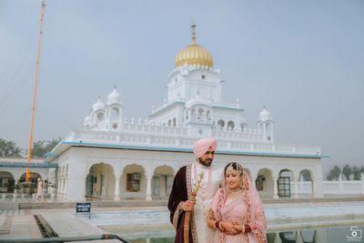 Jasmine and Simer - Wedding Shoot - Safarsaga Films