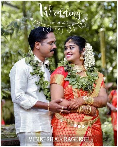Hindu wedding album