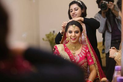 Prerna - Bridal Makeup by Shruti Sharma