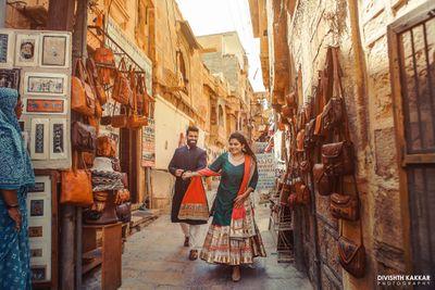 The golden city, Jaisalmer; Varun & Ruchika