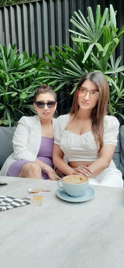 celebrity shefali bagga Make up shoot