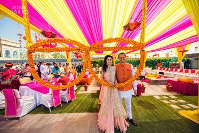 Jaipur weddings karan isha wedding story wedmegood sareena manav jaipur junglespirit Image collections