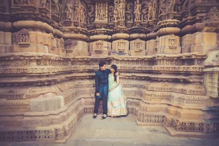 Image result for Khajuraho pre wedding shoots
