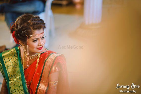 Photo of Marathi bride candid shot