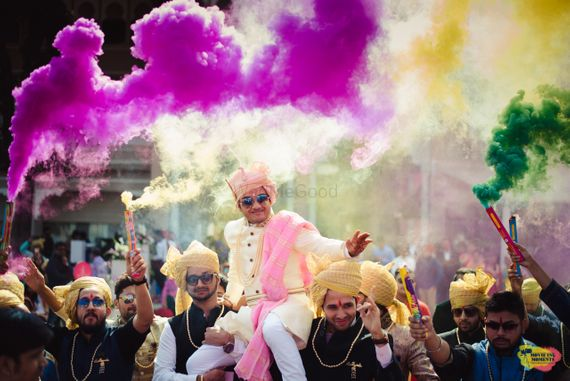 Photo of Smokebomb entry for groom
