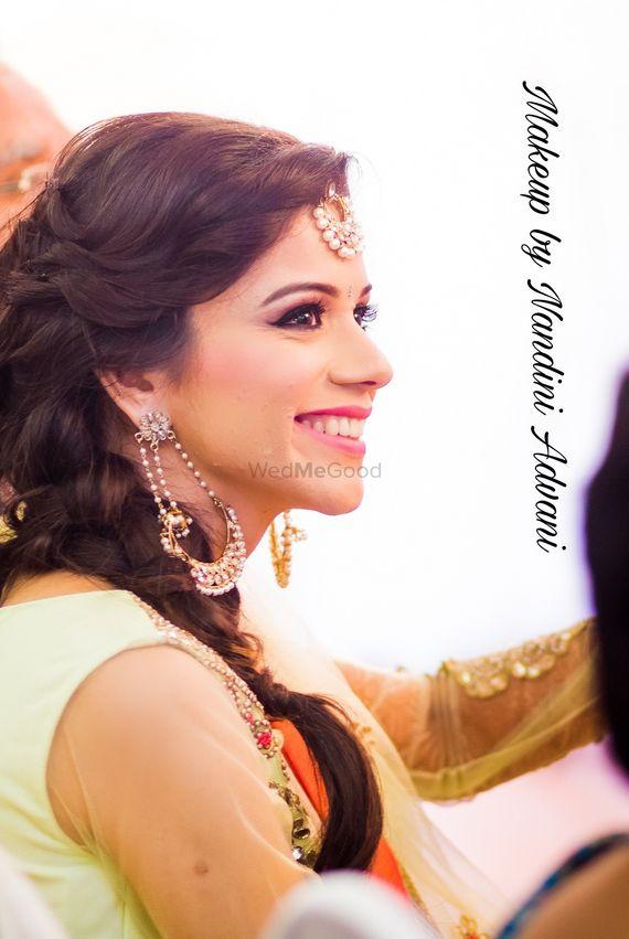 Photo of bridal mehendi look