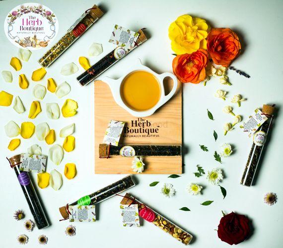 Photo of Exotic tea as wedding favour