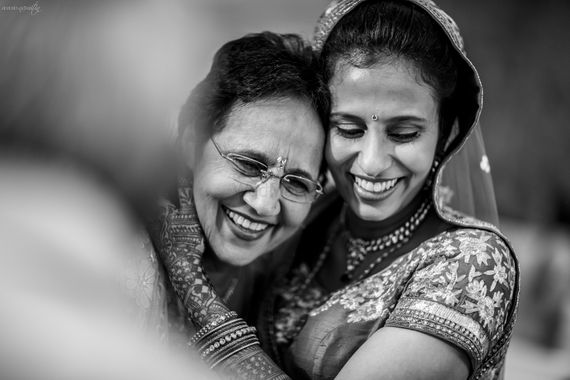 Photo of Mother and daughter portrait