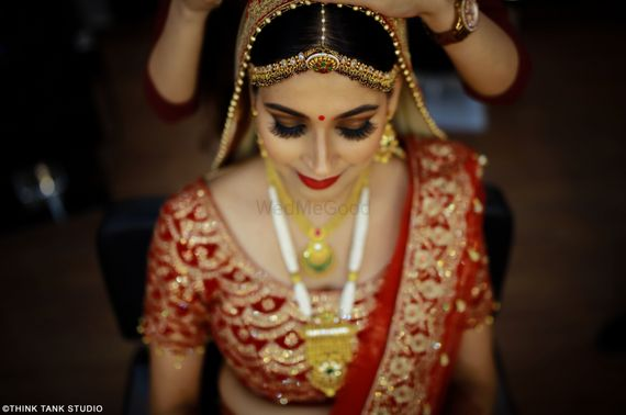 Photo of Beautiful wedding day bridal shot