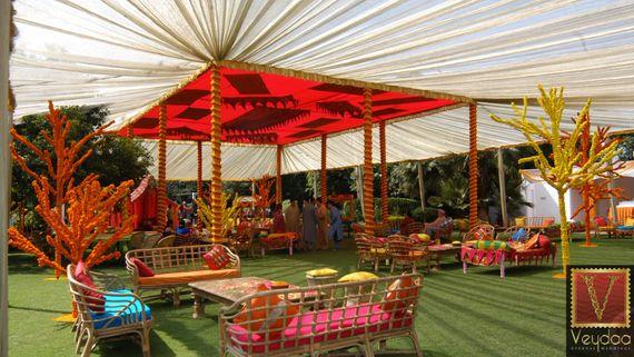 Photo of sangeet decor