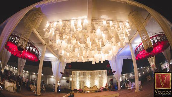 Photo of hanging lamp decor
