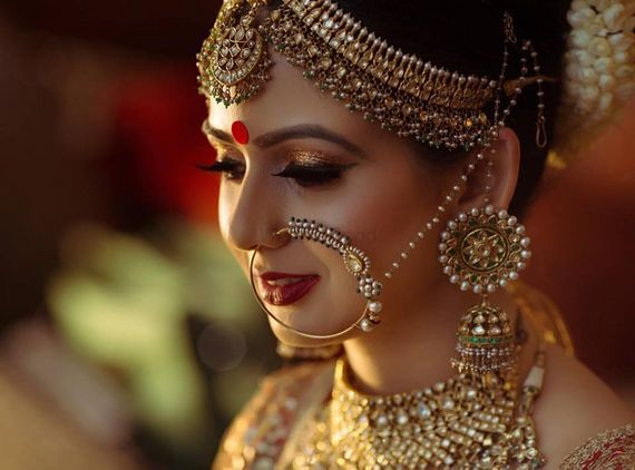 Photo of Graceful and Elegant Bridal jewellery