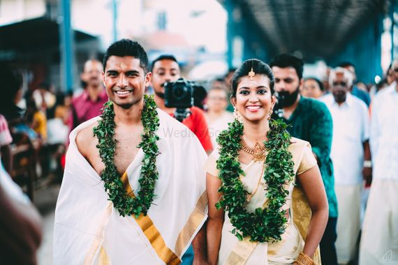Photo of South indian wedding garlands