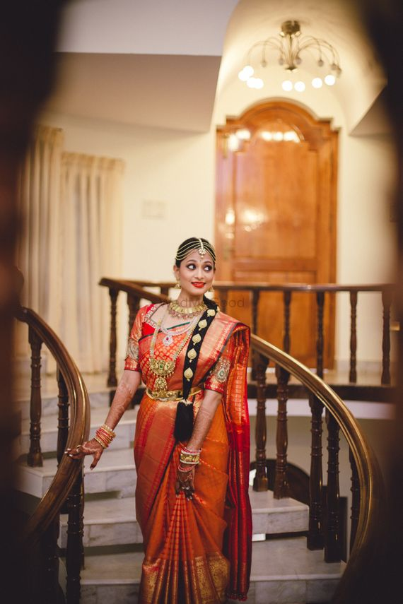 Photo of South Indian Bridal attire