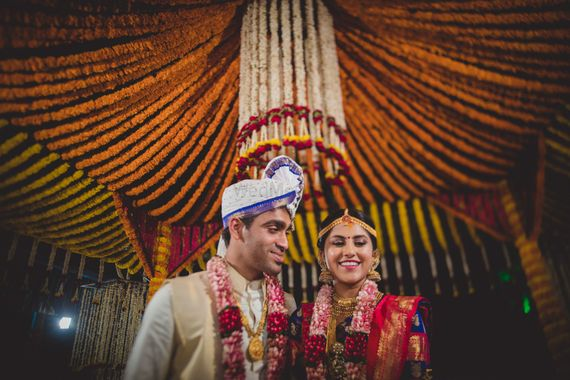 Photo of South Indian couple portrait
