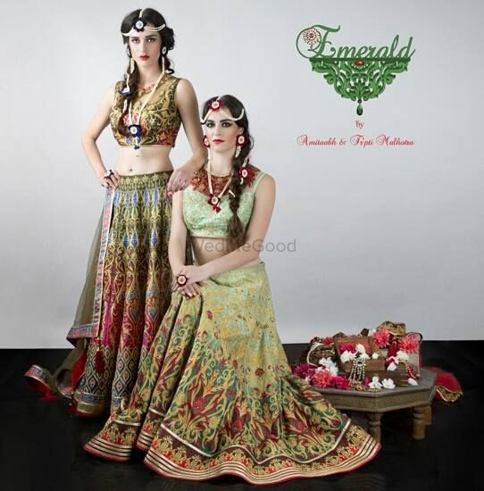 Photo of digital print lehenga