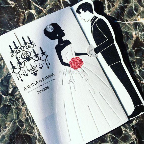 Photo of western style invitation