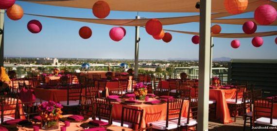 Photo of pink and orange decor