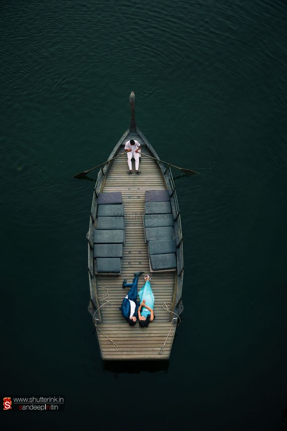 Photo of Pre-Wedding Shot on a Boat