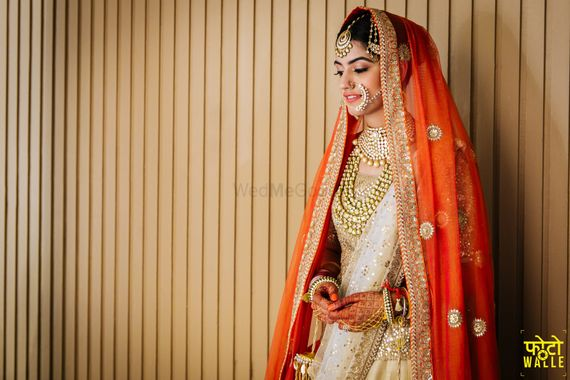 Photo of Beautiful bridal shot