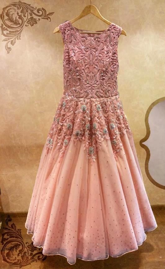 Photo of engagement gown