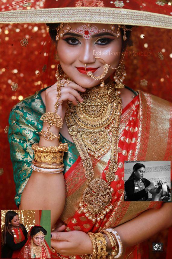 Portfolio of Debi's Premier Makeup | Bridal Makeup in Kolkata - Wedmegood