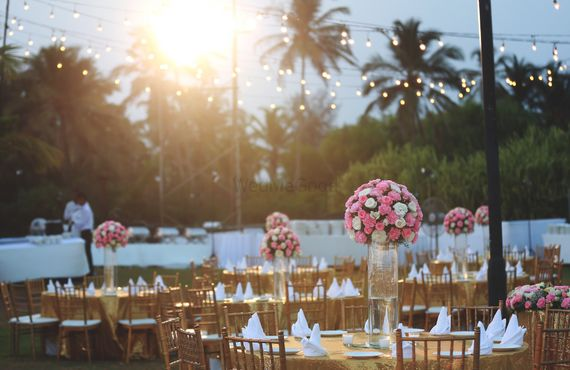 Photo of Sundowner reception decor