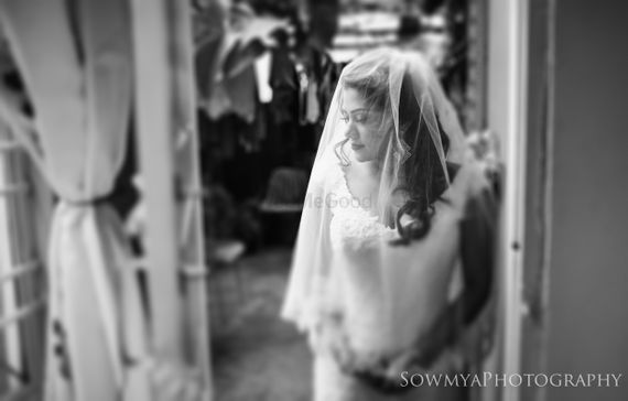 Photo of Christian bride shot