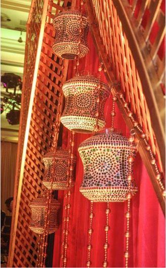 Photo of Arabian theme hanging