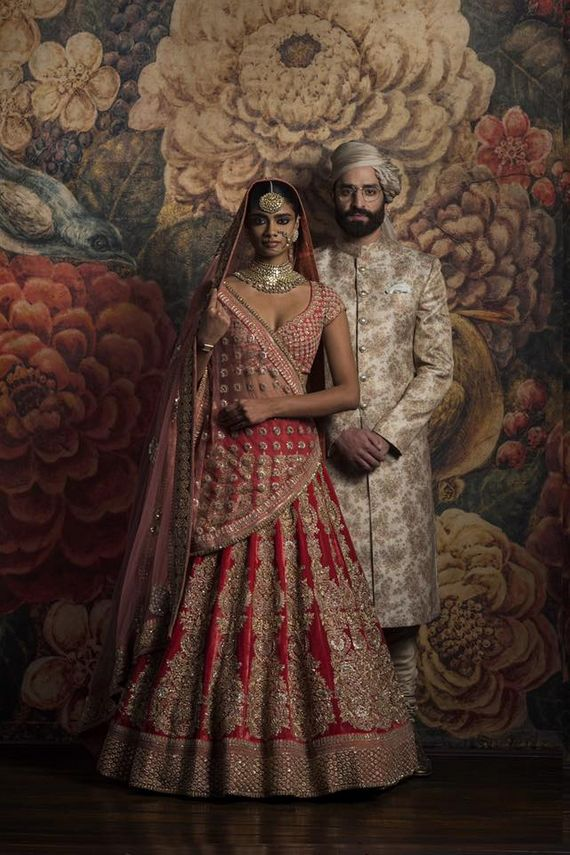 Portfolio Of Sabyasachi Mukherjee Bridal Wear In Delhi