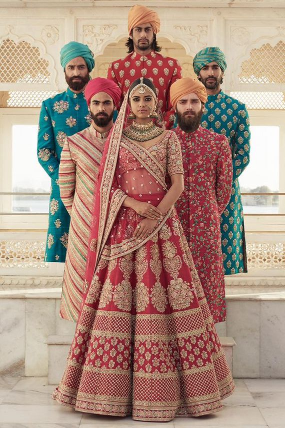 Photo of Outfits by Sabyasachi